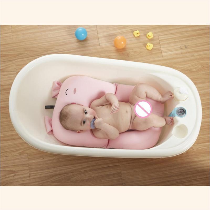 Baby Bath Tub with Chair Pink Pig Baby Bath Tub Newborn Baby Foldable Baby Bath Tub