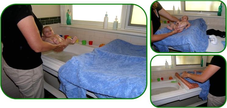 Baby Bathtub Alternative Baby Bath Baby Baby Change Table Drying Your Baby