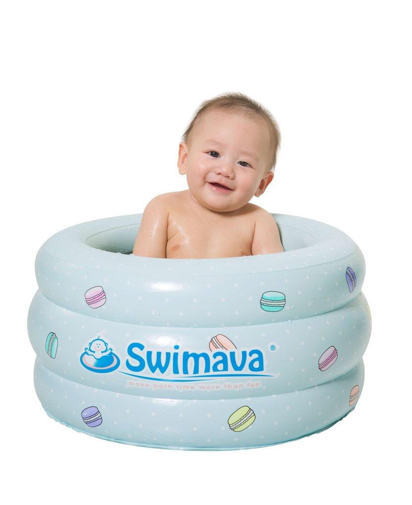 p3 swimava le macaron mini baby bathing tub