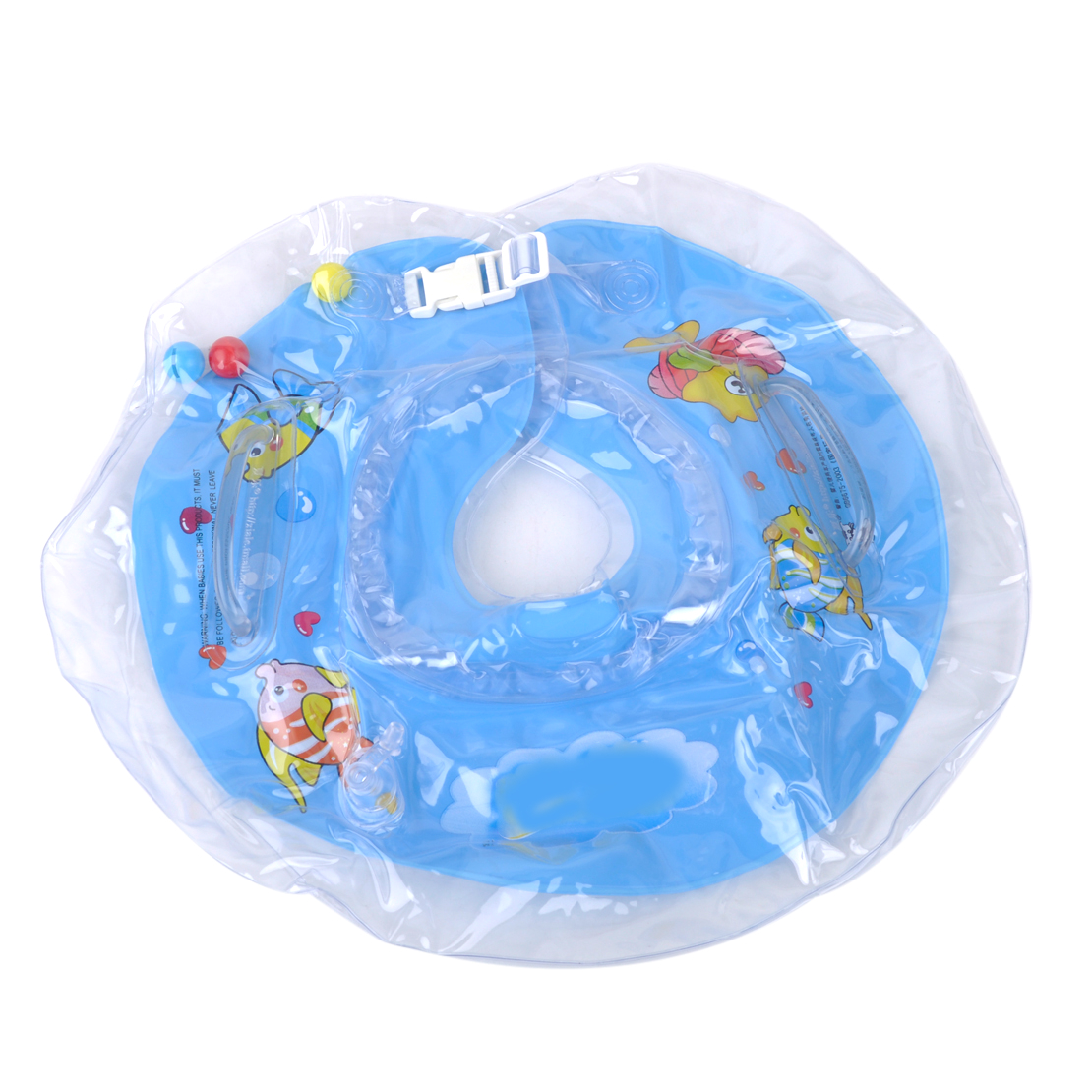 Baby Bathtub Float Inflatable Newborn Swimming Neck Circle Baby Float Ring