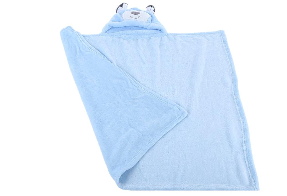 generic flannel baby bath towel cloak
