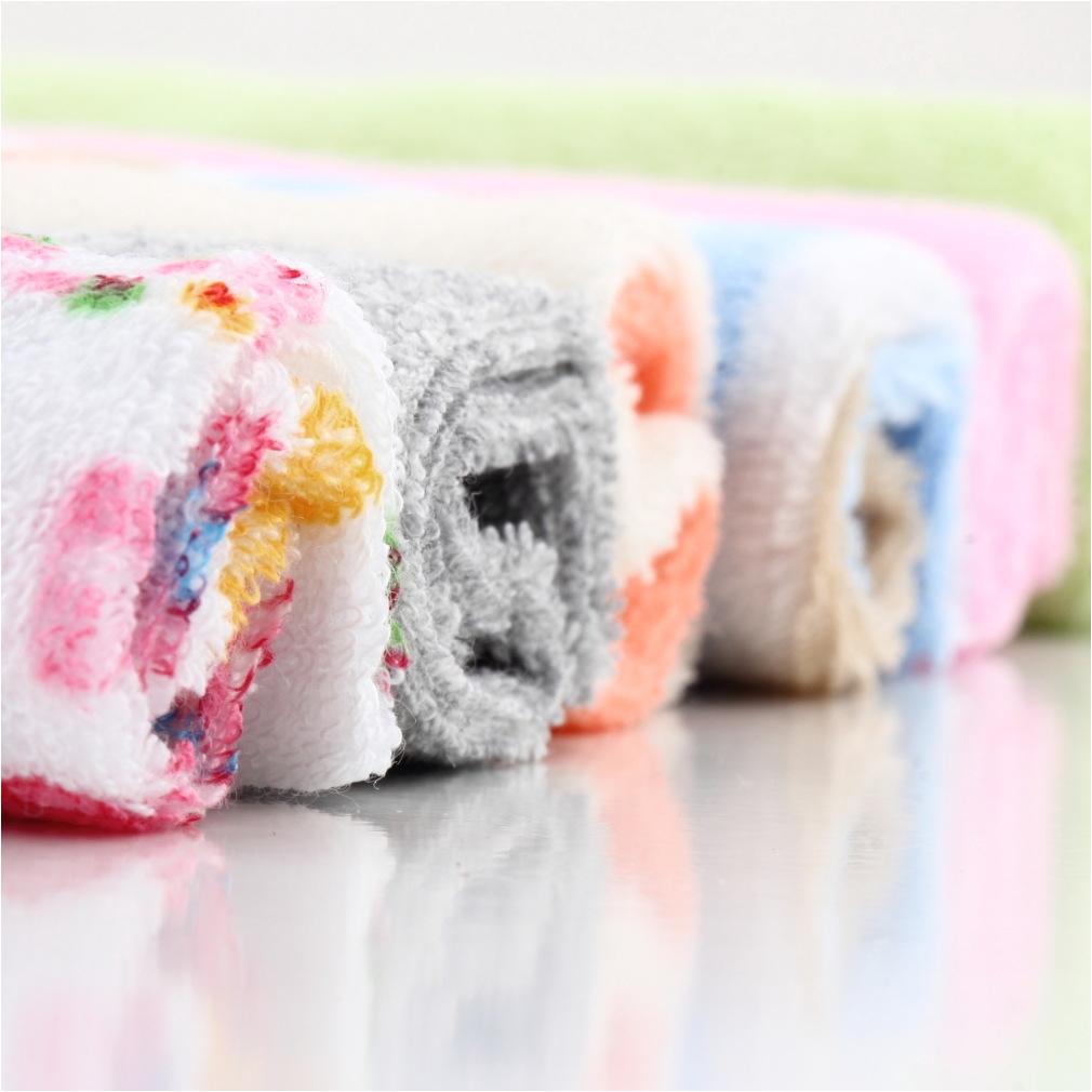 8pcs baby infant newborn bath towel washcloth bathing feeding wipe cloth soft allwin mpg