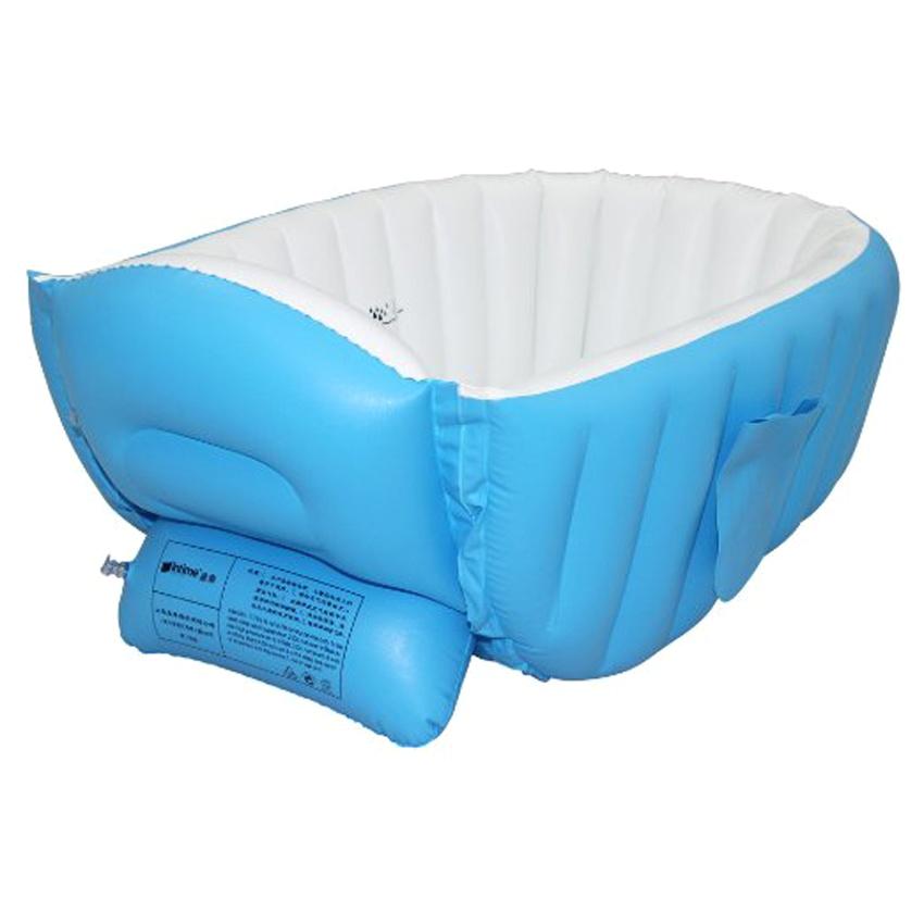 Baby Bathtub Lazada Intime Plastics Yt 226a Inflatable Baby Bath Tub Blue