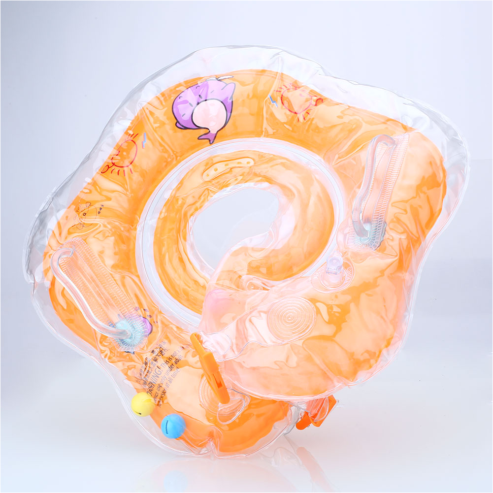 Baby Bathtub Neck Ring Baby Infant Swim Bath Swimming Neck Float Inflatable Ring