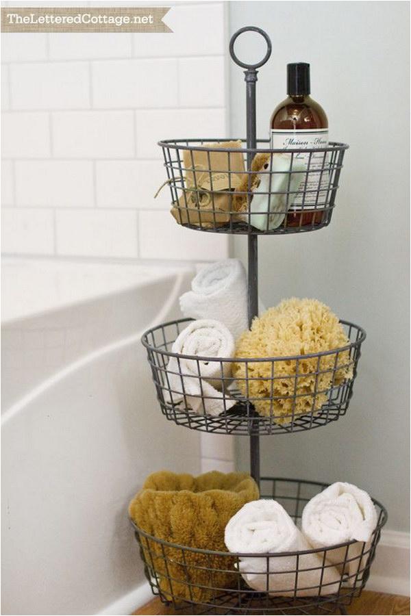 bathtub surround storage ideas