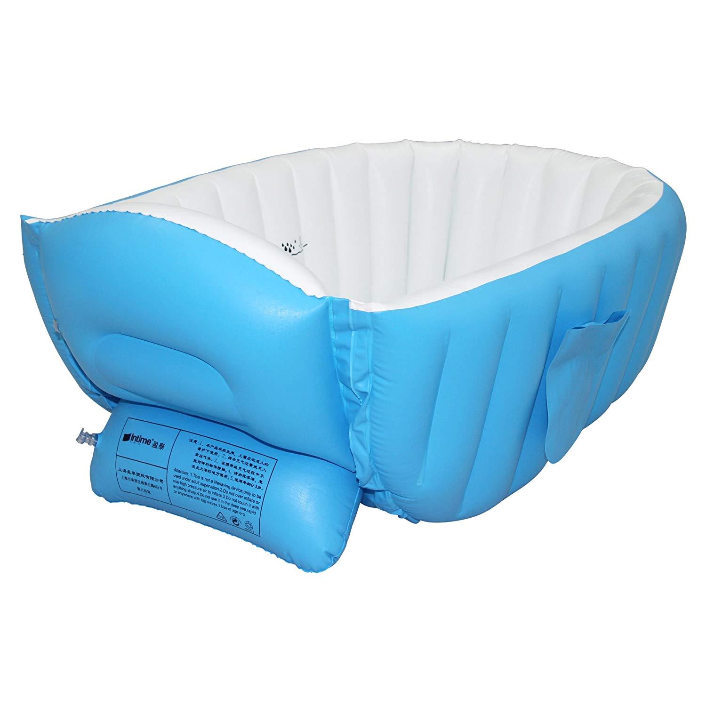 Baby Bathtub Travel Pvc Inflatable Baby Bath Tub Travel Non Slip Bathtub with