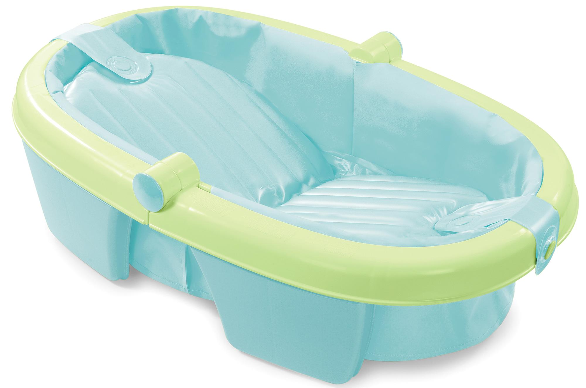 Baby Bathtub Travel Summer Infant Newborn to toddler Fold Away Baby Bath Child