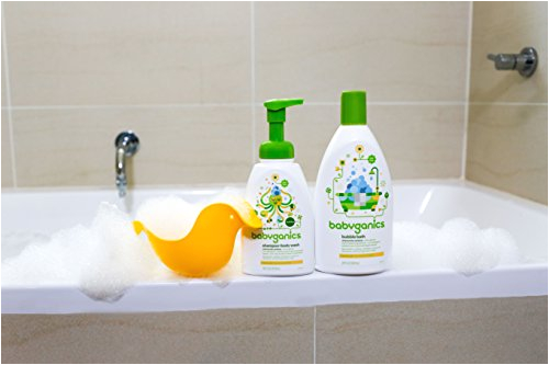 babyganics baby bubble bath fragrance free 20oz bottle pack of 2