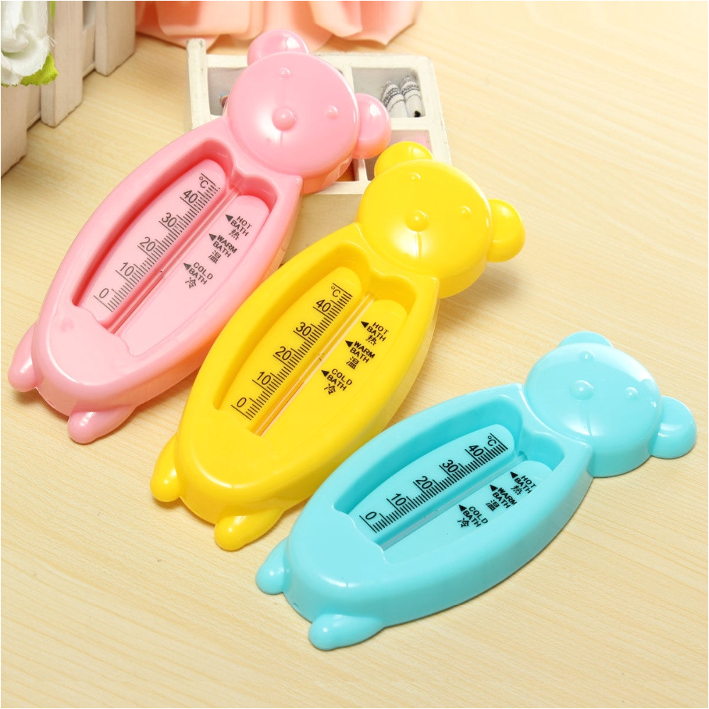 Baby Bathtub with Temperature Control Bear Baby Bath thermometer Floating Tub Temperature Water