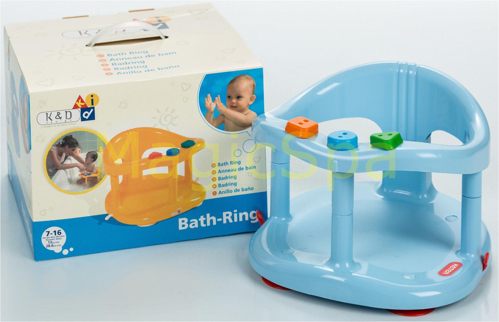 Baby Safe Bath Tub Ring Anti Slip Seat Infant Baby Bath Tub Ring Seat Keter Blue Fast Shipping
