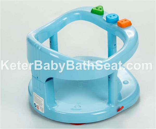 Keter Baby Bath Tub Ring Seat Color Blue p 13