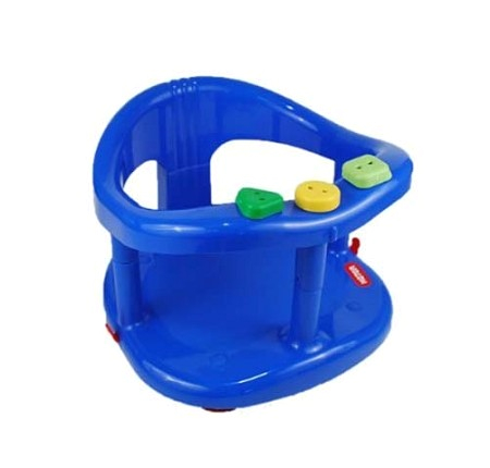 Keter Baby Bath Tub Ring Seat Color Dark Blue p 27