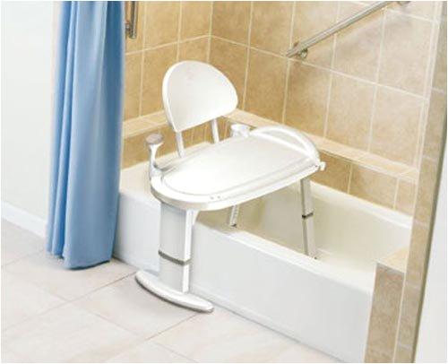 Bath Chairs for the Bathtub Sliding Bath Seat Chair Bench Transfer Tub Heavy Duty