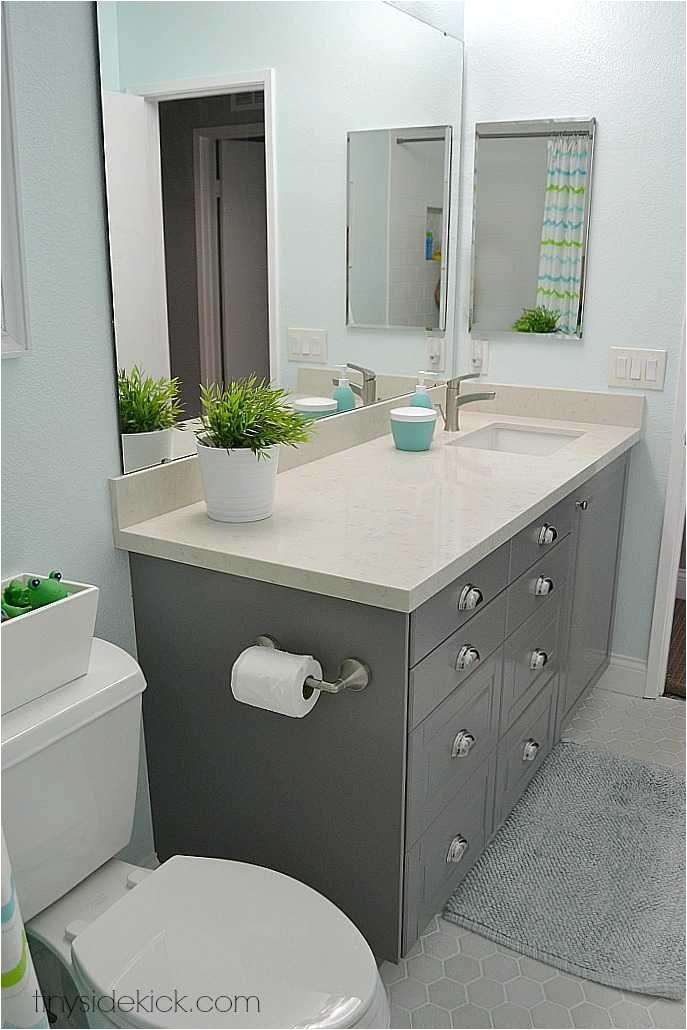 Bathroom Remodel Bathtubs the Kids Brand New Bathroom Reveal