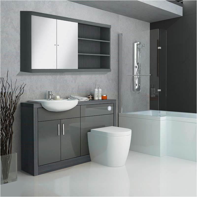 hacienda fitted furniture pack grey