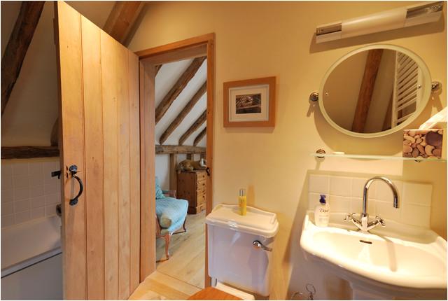 Barn Conversion in Kent UK rustic bathroom london