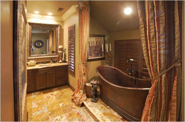 wonderful copper bathtub design for impressive bathroom decoration