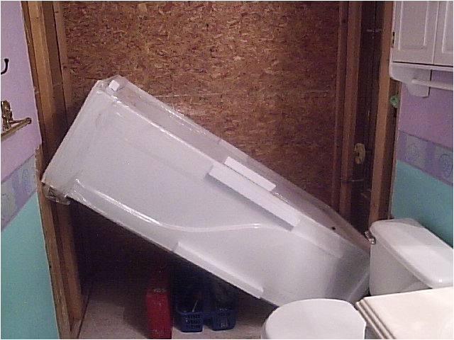 three wall alcove tubs
