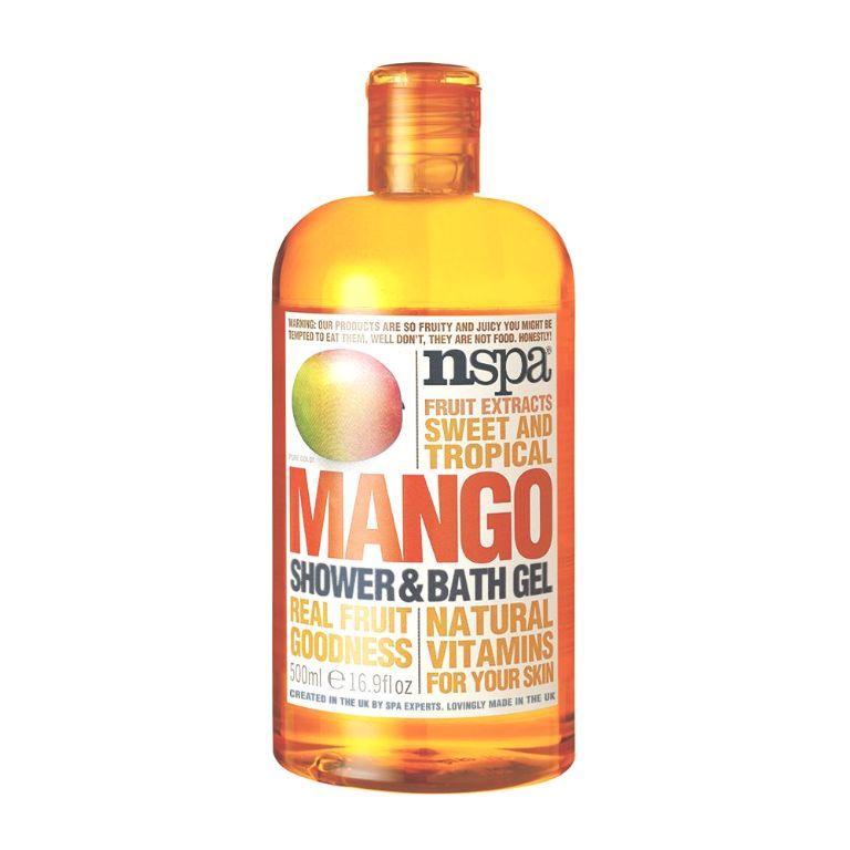 mango shower and bath gel