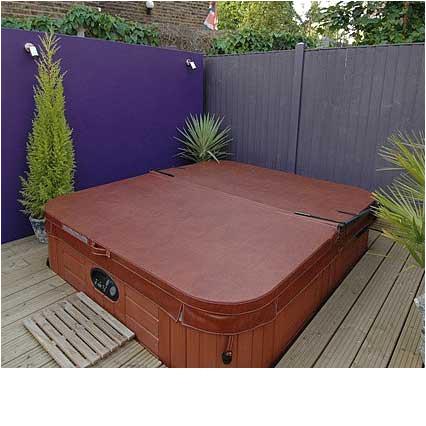 american luxury hot tub cover