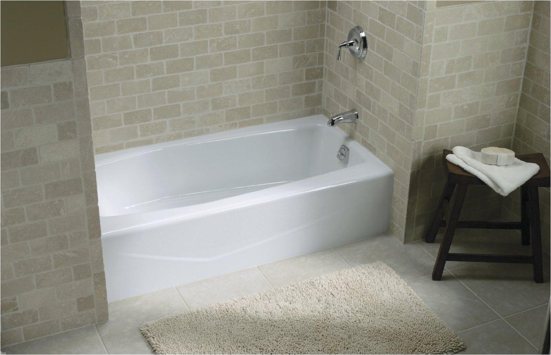 Bathtub Deep soaking Depth soft Bathroom Mat with White Bathtub Abd Subway Ceramic