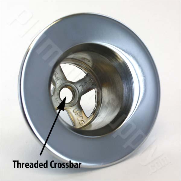 Bathtub Drain Cover Center Screw Easy to Install Universal Tub Drain Trim Kits Fits