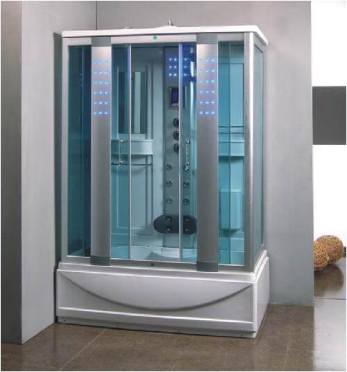 munderin 1350mm x 800mm steam shower bath enclosure cabin 332 p