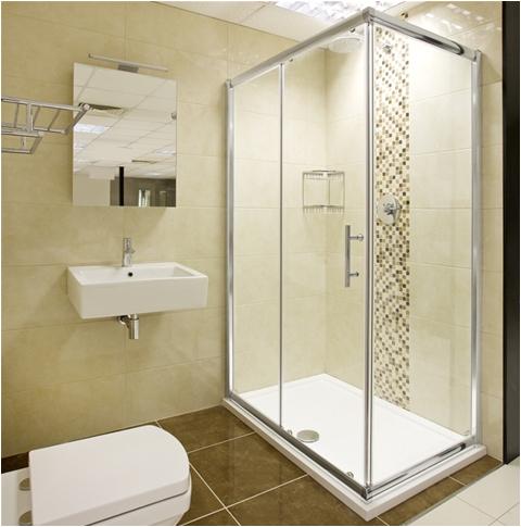 helene sliding door shower enclosure