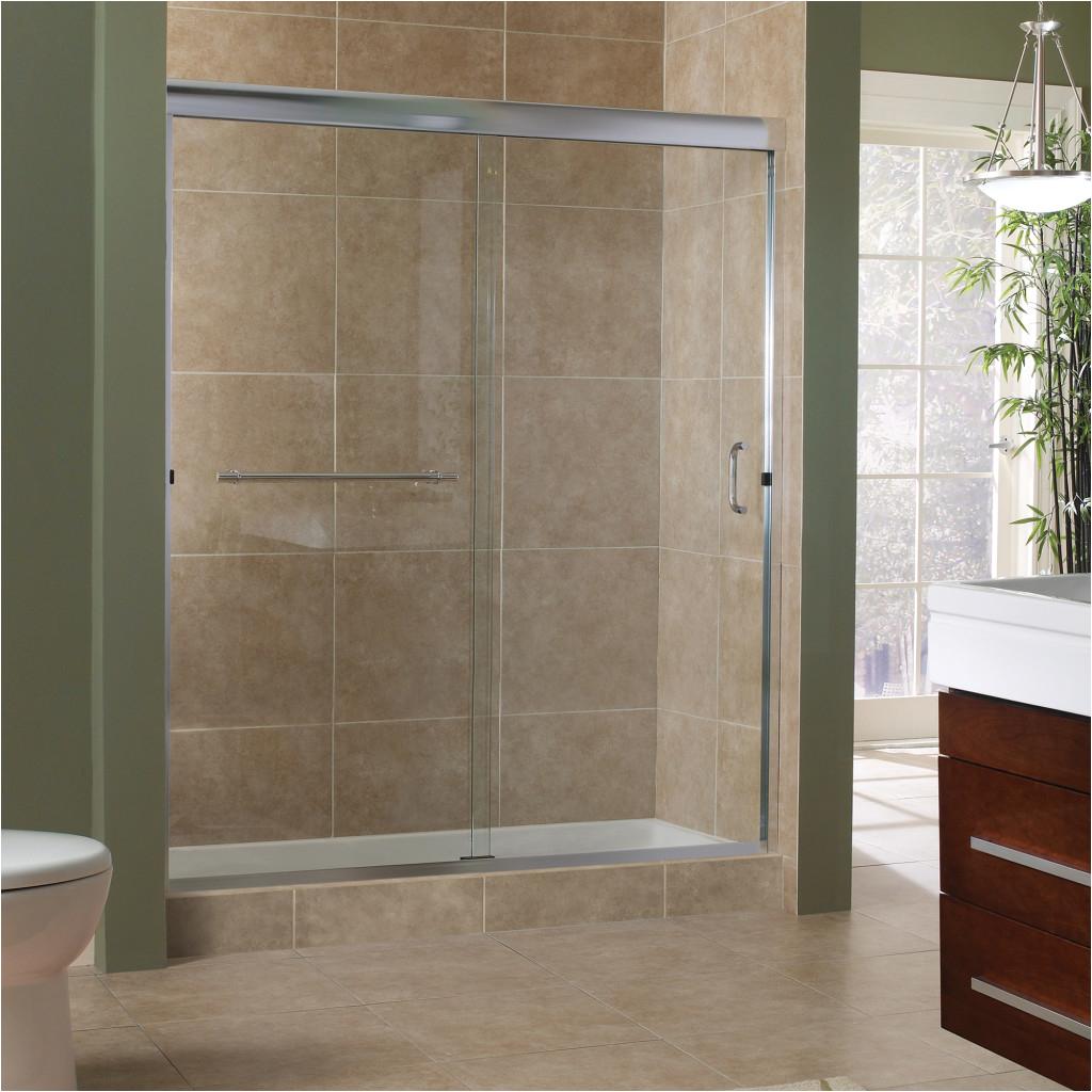 marina collection 38 frameless sliding shower doors