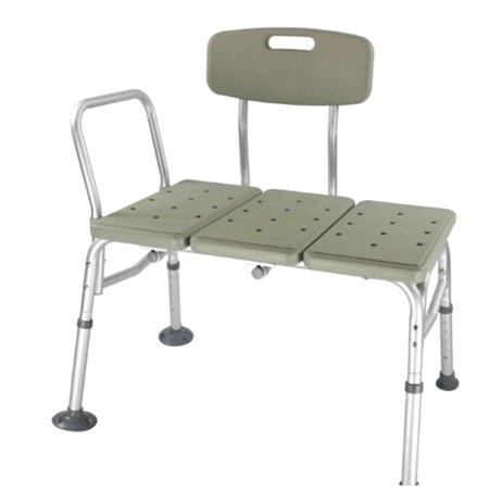 Bathtub Footstool Zimtown Bath Shower Chair Adjustable Medical 10 Height
