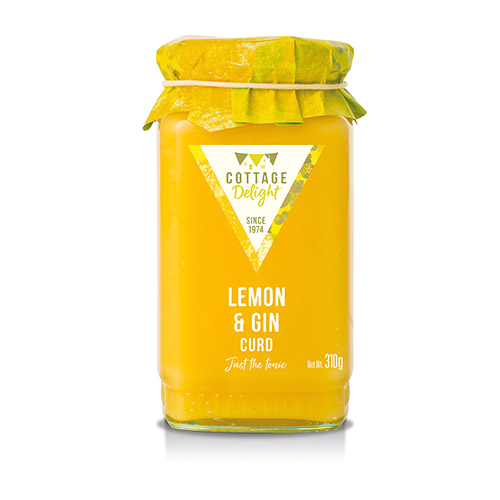 Bathtub Gin Uk Stockists Cottage Delight Lemon Curd with Gin