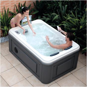 HS SPA291Y white spa bathtub 2
