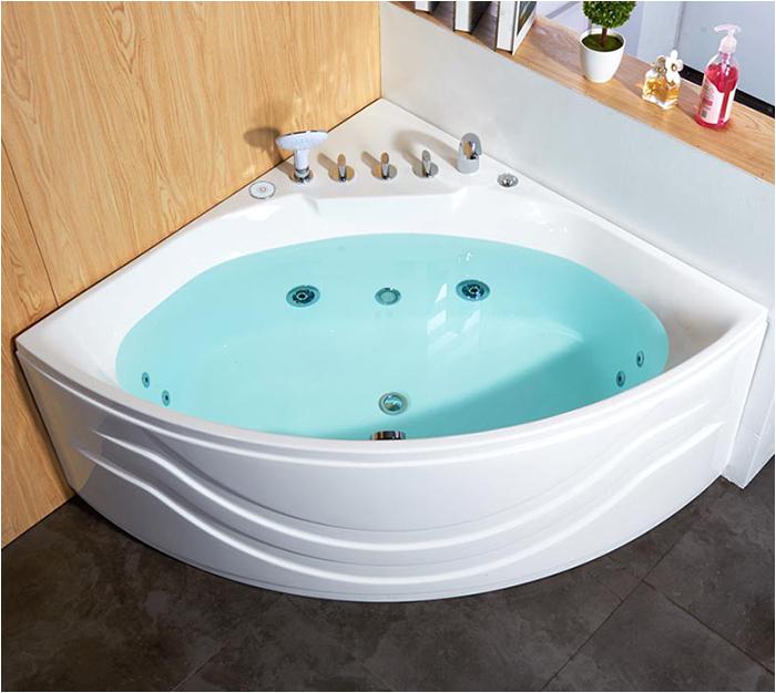 Corner Bathtub With Motor SB 7518
