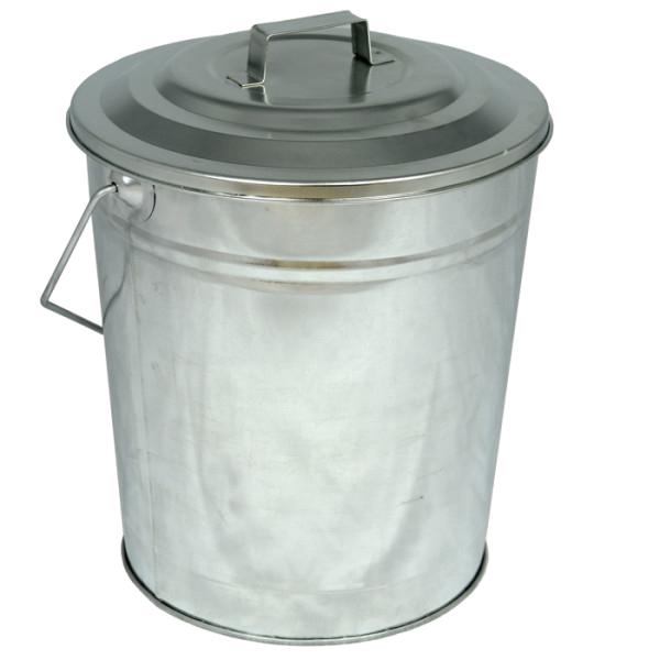 galvanised coal tub lid