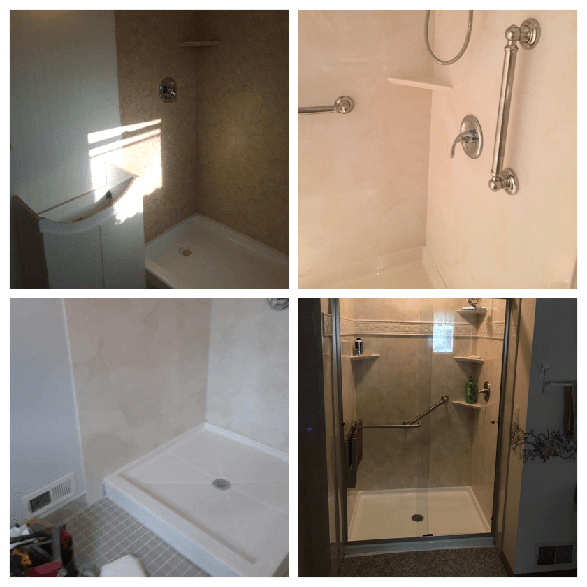 Basic Tub Shower Replacement Packages p