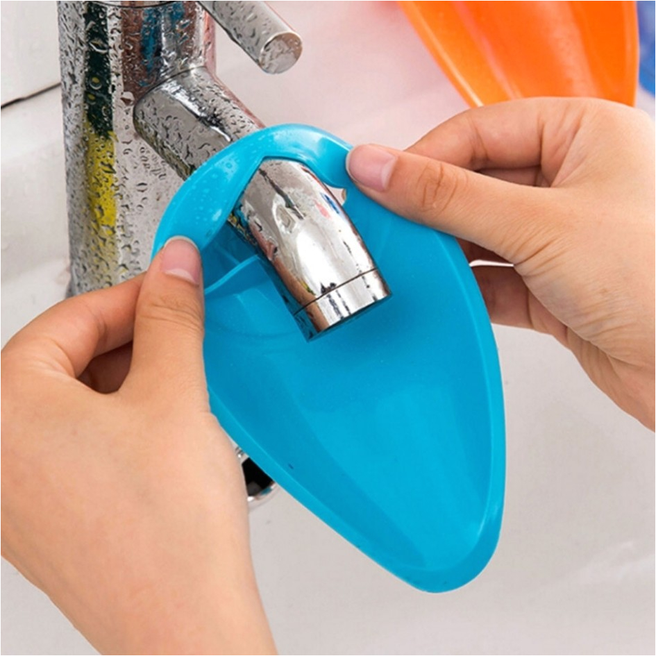 cute bathtub faucet extender for easy washing