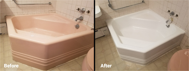 reglazing vs bath liner