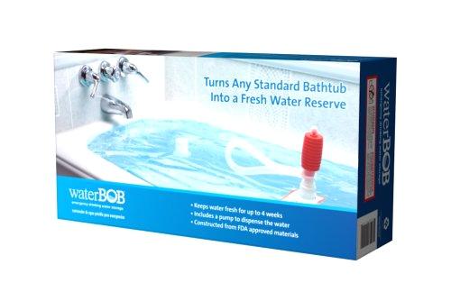 waterbob emergency drinking water storage 100 gallons