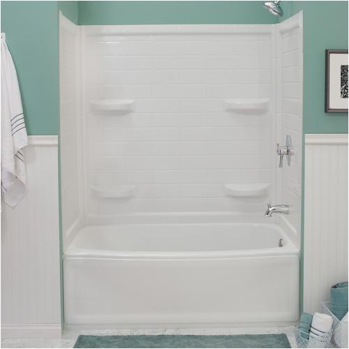"Bathtub Paint Menards Lyons Contour™ 60"" X 32"" Bathtub Wall Surround at Menards"