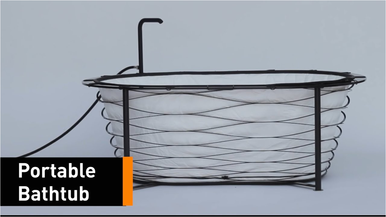 Bathtub Portable Dewasa now You Can Shower the Go with This Foldable Bathtub
