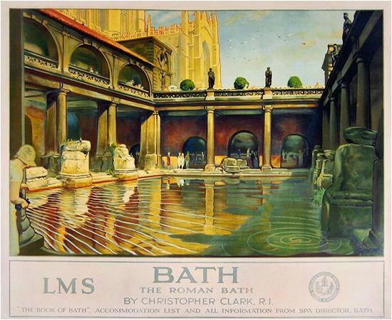 Bathtub Prints Uk Image Result for Bath England Vintage Travel Poster