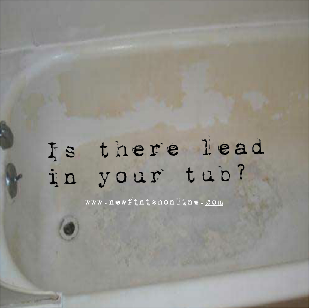 Lead is Found in Old Bathtubs Refinishing is the Answer AE9