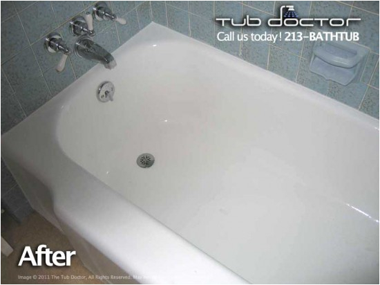 Bathtub Reglazing In orange County Ca before & after Gallery Tub Reglazing Bathtub Refinishing