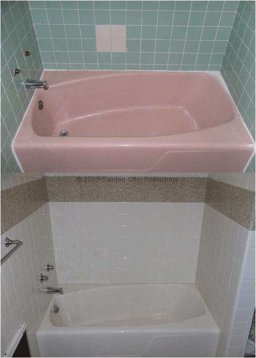 Bathtub Reglazing Michigan before & after Bathtub Refinishing – Tile Reglazing