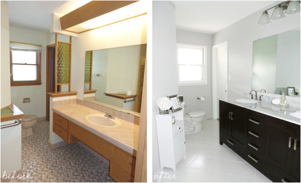Bathtub Remodel before and after 20 before and after Bathroom Remodels that are Stunning