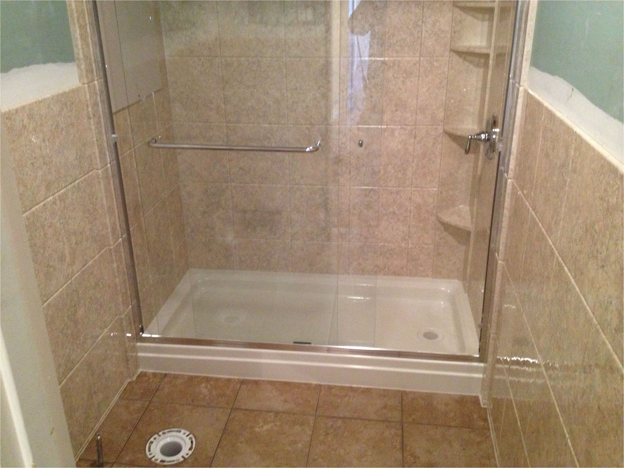 tub to shower conversion for remodeling bathroom design
