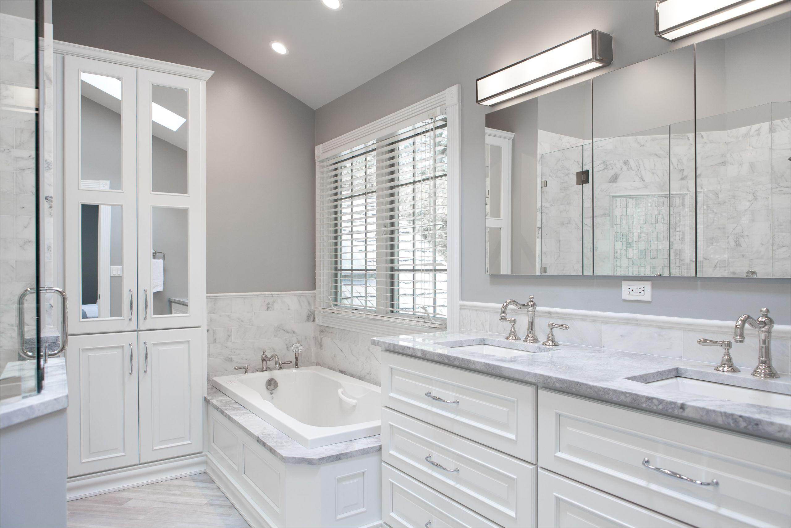 bathroom remodel cost in the chicago north shore area