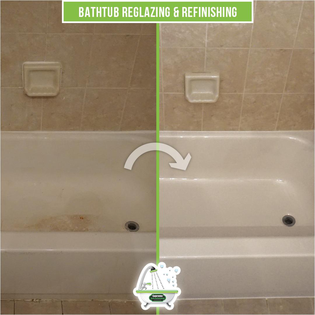 reglazing a tub