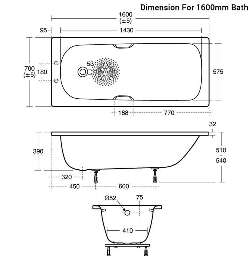 Bathtub Supplier Uk Ideal Standard Simplicity Steel 1500 X 700mm Bathtub with