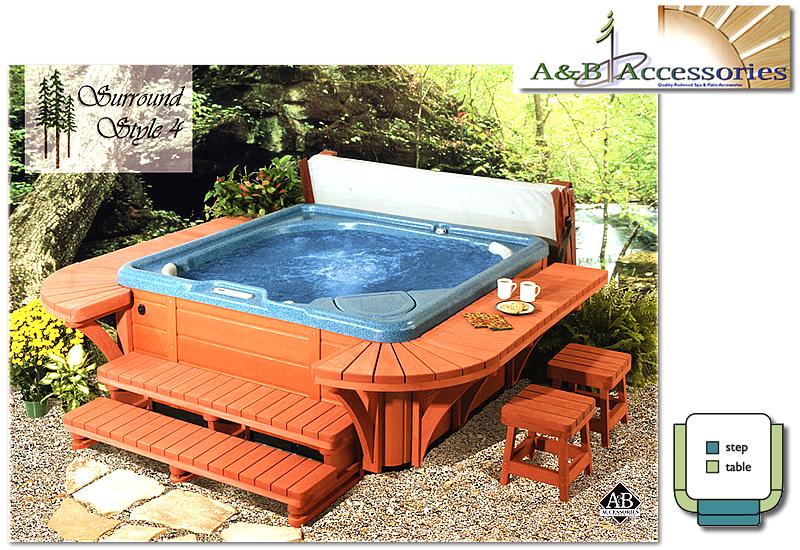 Bathtub Surround Accessories Spa Hot Tub Surround Kits